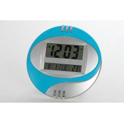 Reloj Azul Cielo D Pared Digital Alarma Fecha Mesa Kk 3885