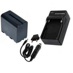 Kit Bateria Np 970 Y Cargador