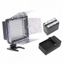 Lámpara Yn160 Led Version Ii Con Batería Y Cargador