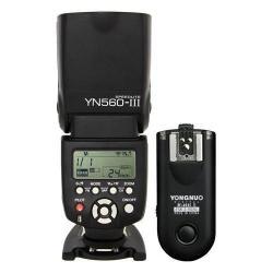 Kit Flash Yongnuo 560 Iii Y Disparador Rf603 Nikon