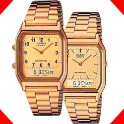 Reloj Casio Retro Aq230 - Análogo Digital - Cfmx -