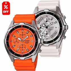 Reloj Caballero Casio Amw380 - Caucho - Fechador - Cfmx
