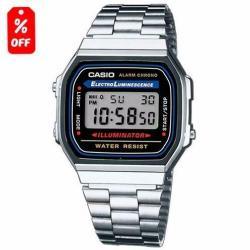 Reloj Casio Retro Vintage A168 - Envío Gratis - Cfmx -