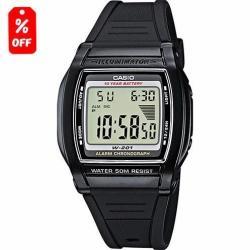Si buscas Reloj Casio W201 - Hora Doble - Wr 50m - 100% Original Cfmx puedes comprarlo con CFMX está en venta al mejor precio
