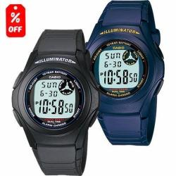Reloj Casio F200 - Hora Doble - 100% Original - Cfmx