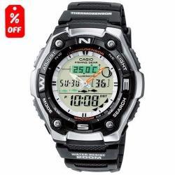 Reloj Casio Outgear Aqw101 Fases Lunares- Original Cfmx