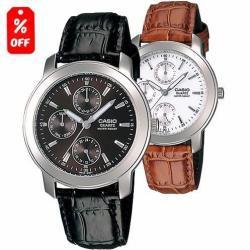 Si buscas Reloj Casio Mtp1192 Piel- Cristal Mineral- Cfmx puedes comprarlo con CFMX está en venta al mejor precio