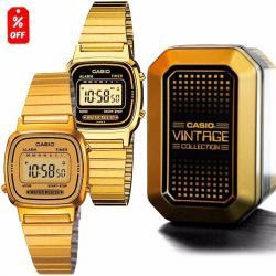 Si buscas Reloj Casio Retro Vintage La670 - Edición Limitada - Cfmx - puedes comprarlo con CFMX está en venta al mejor precio