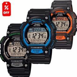 Reloj Casio Phys Stls100 - Cronómetro 120 Memorias - Cfmx -