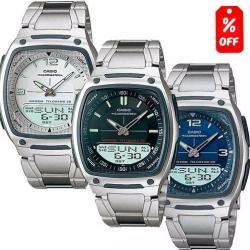 Reloj Casio Aw81 Metal- Luz- 30 Memorias- Cronómetro- Cfmx -