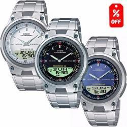 Reloj Casio Aw80 Metal - 30 Memorias - Luz - Original Cfmx -