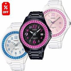 Reloj Casio Dama La680 Flores Nuevo - 100% Original Cfmx