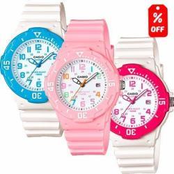 Reloj Dama Casio Lrw200 - Colores - Acabado Brillante- Cfmx