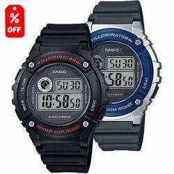 Reloj Casio W216 - Cronómetro- 50m- Led - 100% Original Cfmx