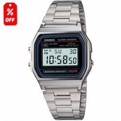 6f7a2cb6dd23 Si buscas Reloj Casio A158 Plata Retro Vintage - 100% Original - Cfmx  puedes comprarlo
