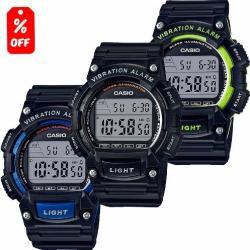 Si buscas Reloj Caballero Casio W736 Caucho - Alarma Vibratoria - Cfmx puedes comprarlo con CFMX está en venta al mejor precio