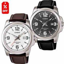 fada533d1235 Reloj Casio Caballero Mtp1314 - Piel - Fechador - Cfmx ...