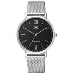 c3abd87506f0 Si buscas Reloj Caballero Q q Qa20j402y - Malla Plata Con Negro- Cfmx  puedes comprarlo con