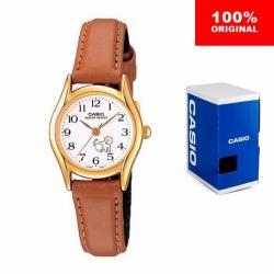 Reloj Dama Casio Ltp-1094q7b7 - Piel - Figuras - Cfmx