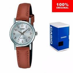 Reloj Dama Casio Ltp109415 - Piel - Cristal Mineral - Cfmx