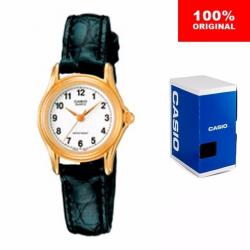 Reloj Dama Casio Ltp109417 - Piel - Cristal Mineral - Cfmx