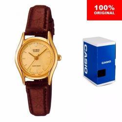 Reloj Dama Casio Ltp10948 - Piel - Cristal Mineral - Cfmx