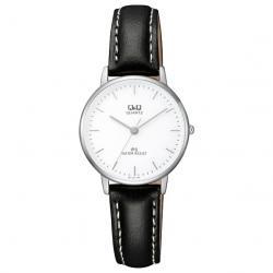 Si buscas Reloj Q&q Dama Qz01j301y Piel Genuina Cristal Mineral - Cfmx puedes comprarlo con CFMX está en venta al mejor precio