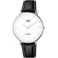 Si buscas Reloj Q&q Qz00j301y Piel Genuina Cristal Mineral - Cfmx puedes comprarlo con CFMX está en venta al mejor precio