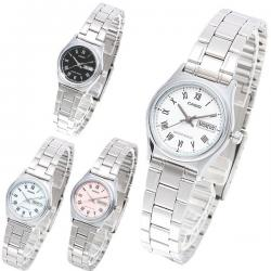 f981aa7ad08a Si buscas Reloj Dama Casio Ltpv006 Azul - Cristal Mineral - Cfmx puedes  comprarlo con CFMX