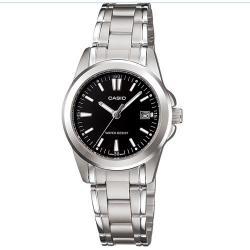 bdf6f04d6321 Si buscas Reloj Casio Dama Ltp1215 Negro Metal - Fechador - Cfmx puedes  comprarlo con CFMX