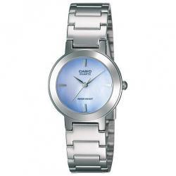 Si buscas Reloj Dama Casio Ltp1191 Azul - Cristal Mineral - Cfmx - puedes comprarlo con CFMX está en venta al mejor precio