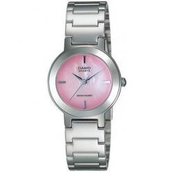 Si buscas Reloj Dama Casio Ltp1191 Rosa - Cristal Mineral - Cfmx - puedes comprarlo con CFMX está en venta al mejor precio