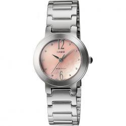 Si buscas Reloj Dama Casio Ltp1191 Durazno - Cristal Mineral - Cfmx - puedes comprarlo con CFMX está en venta al mejor precio
