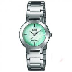 Si buscas Reloj Dama Casio Ltp1191 Verde - Cristal Mineral - Cfmx - puedes comprarlo con CFMX está en venta al mejor precio