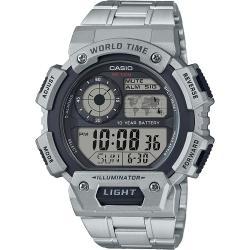 Si buscas Reloj Casio Ae1400 Metal- Horario Mundial -- Cfmx puedes comprarlo con CFMX está en venta al mejor precio