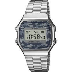 Si buscas Reloj Casio Retro A168 Plata Camuflage Gris- 100% Original puedes comprarlo con CFMX está en venta al mejor precio