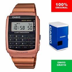 Si buscas Reloj Casio Ca506 Rosa Cobre Retro Vintage - Calculadora puedes comprarlo con CFMX está en venta al mejor precio