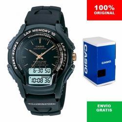 Si buscas Reloj Caballero Casio Ws300 Negro - 10 Memorias - Cfmx - puedes comprarlo con CFMX está en venta al mejor precio
