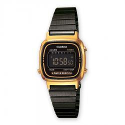 Si buscas Reloj Casio Damas Retro Vintage La670 Dorado Con Negro- Cfmx puedes comprarlo con CFMX está en venta al mejor precio