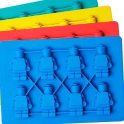 Molde De Silicón De Muñecos Lego Hielo Chocolate Jabón Velas
