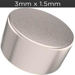 Si buscas 50 Imanes De Neodimio De 3mm X 1.5mm Disco + Envío Gratis puedes comprarlo con IN EXCELSIS NET está en venta al mejor precio