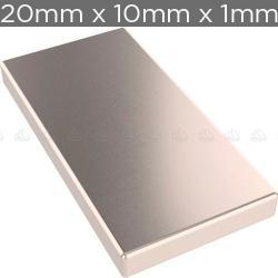 Si buscas 5 Imanes De Neodimio 20mm X 10mm X 2mm Placa + Envío Gratis puedes comprarlo con IN EXCELSIS NET está en venta al mejor precio