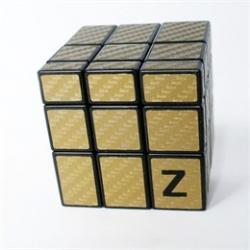 Si buscas Z-cube Mirror Cube With Golden Carbon Fiber Sticker puedes comprarlo con MCKTOYS está en venta al mejor precio