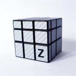 Si buscas Z-cube Mirror Cube With Silver Carbon Fiber Sticker puedes comprarlo con MCKTOYS está en venta al mejor precio