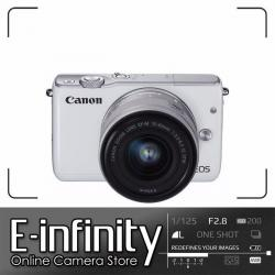 NEW Canon EOS M10 Digital Camera + EF-M 15-45mm f/3.5-6.3 IS STM Lens White
