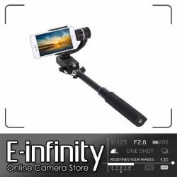 NEW Feiyu SmartStab 2-Axis Selfie Gimbal and Extension Pole for Smartphones