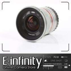 NEW Samyang 12mm f/2.0 NCS CS Lens for Sony E Mount (Silver)
