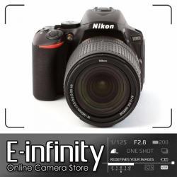NEW Nikon D5600 Digital SLR Camera + AF-S 18-140mm f/3.5-5.6G VR Lens (Black)