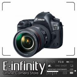 NEW Canon EOS 5D Mark IV DSLR Camera + EF 24-105mm f/4L IS II USM Lens