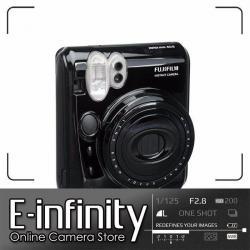 NEW Fujifilm instax mini 50S Instant Print Camera (Piano Black)